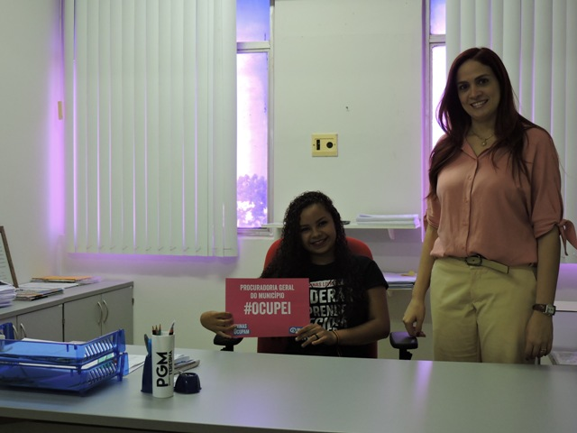 PGM acolhe projeto #MeninasOcupam