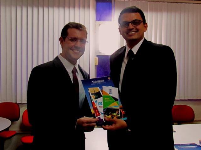 Cerimônia de posse do procurador do município de Teresina, Tiago Pontes