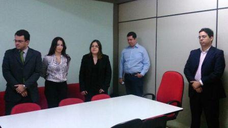 Cerimônia de posse da procuradora do município de Teresina, Mariana de Almeida