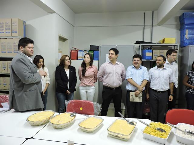 Confraternização Procuradoria Fiscal - aniversariantes do mês e novas instalações