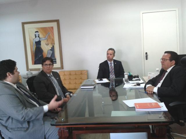Reunião Corregedoria Geral de Justiça do Piauí e PGM